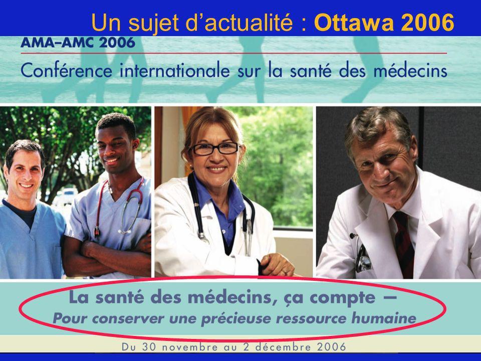 Un sujet d'actualité : Ottawa 2006