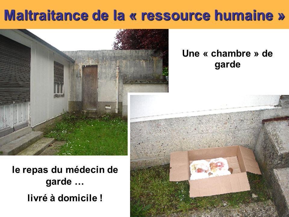 Maltraitance de la « ressource humaine »