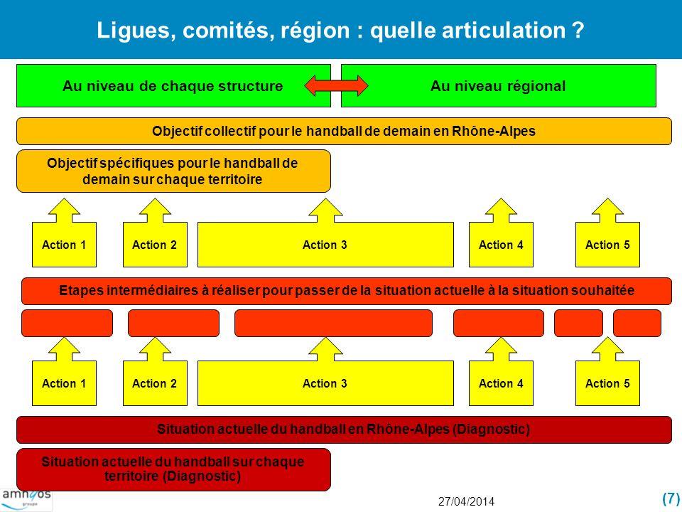 Ligues, comités, région : quelle articulation