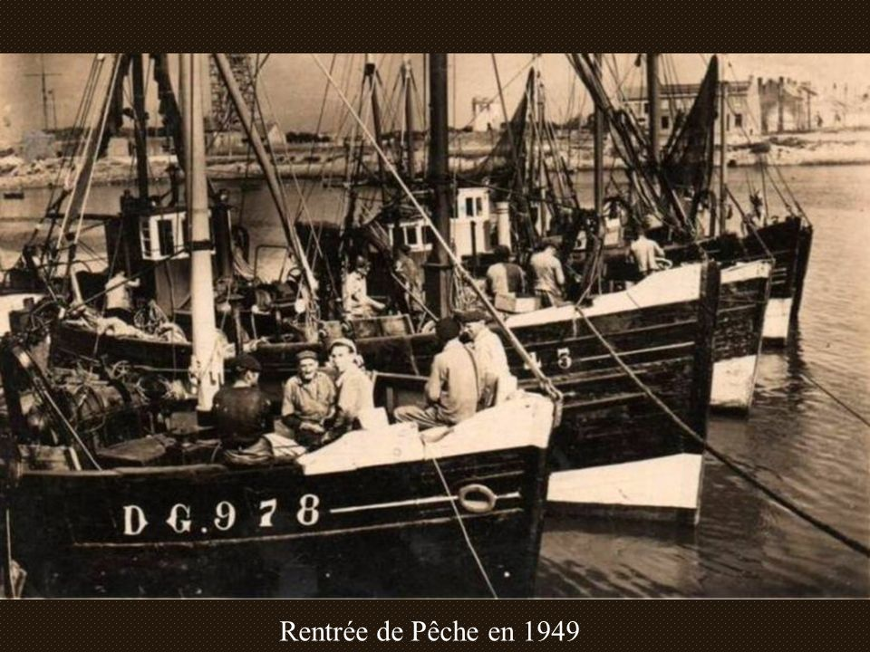 Rentrée de Pêche en 1949