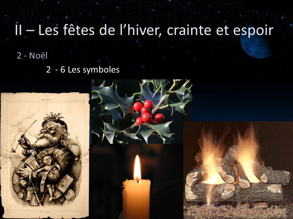 II – Les fêtes de l'hiver, crainte et espoir