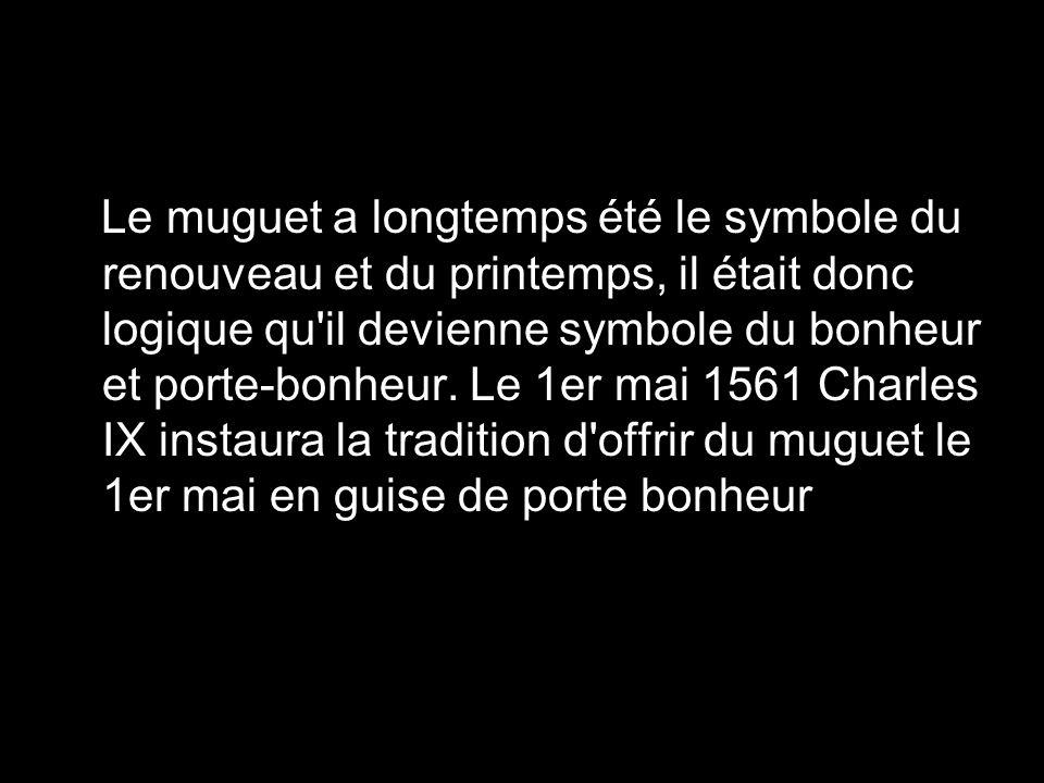 Le muguet a longtemps t le symbole du renouveau et du for Symbole porte logique