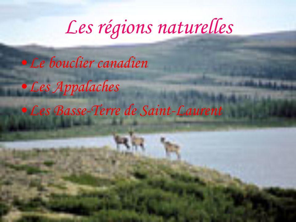 Les régions naturelles