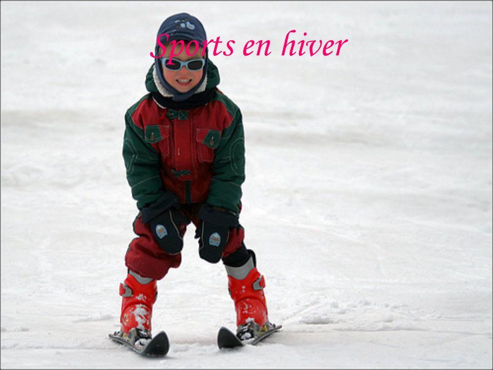 Sports en hiver