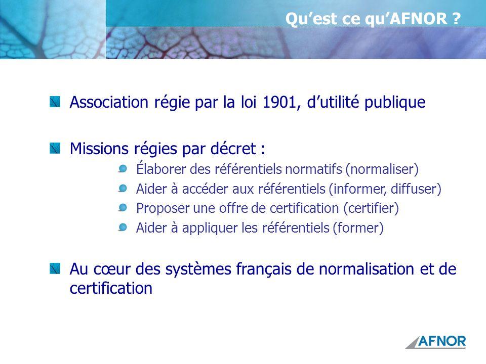 Association régie par la loi 1901, d'utilité publique