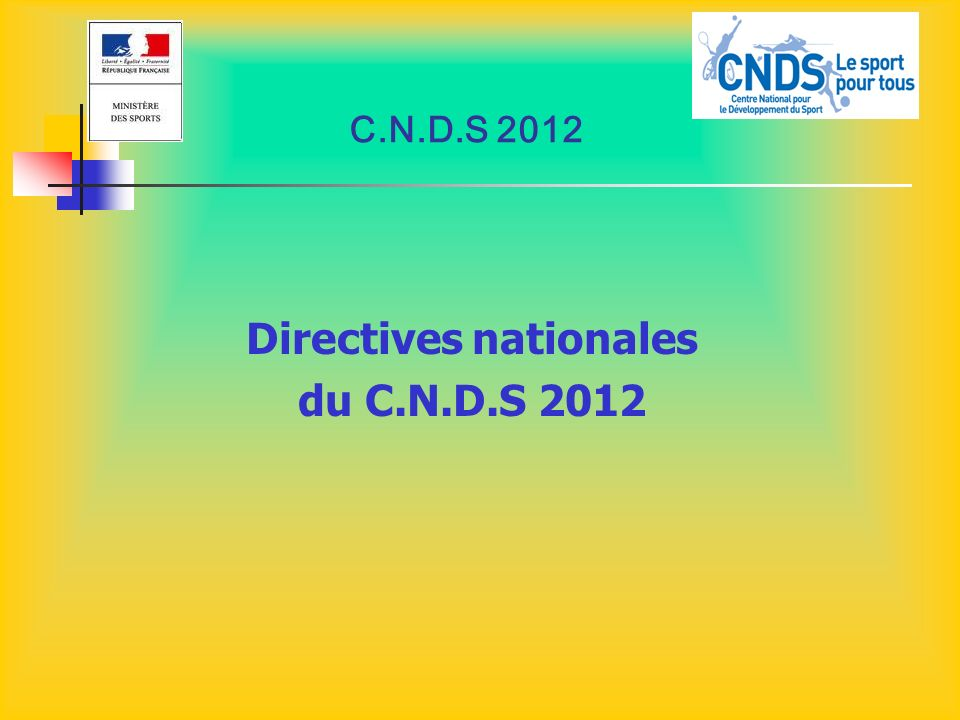 Directives nationales
