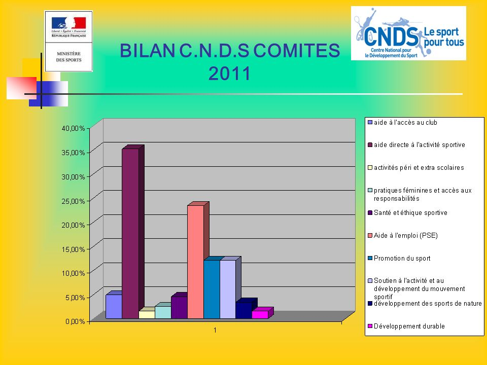 BILAN C.N.D.S COMITES 2011