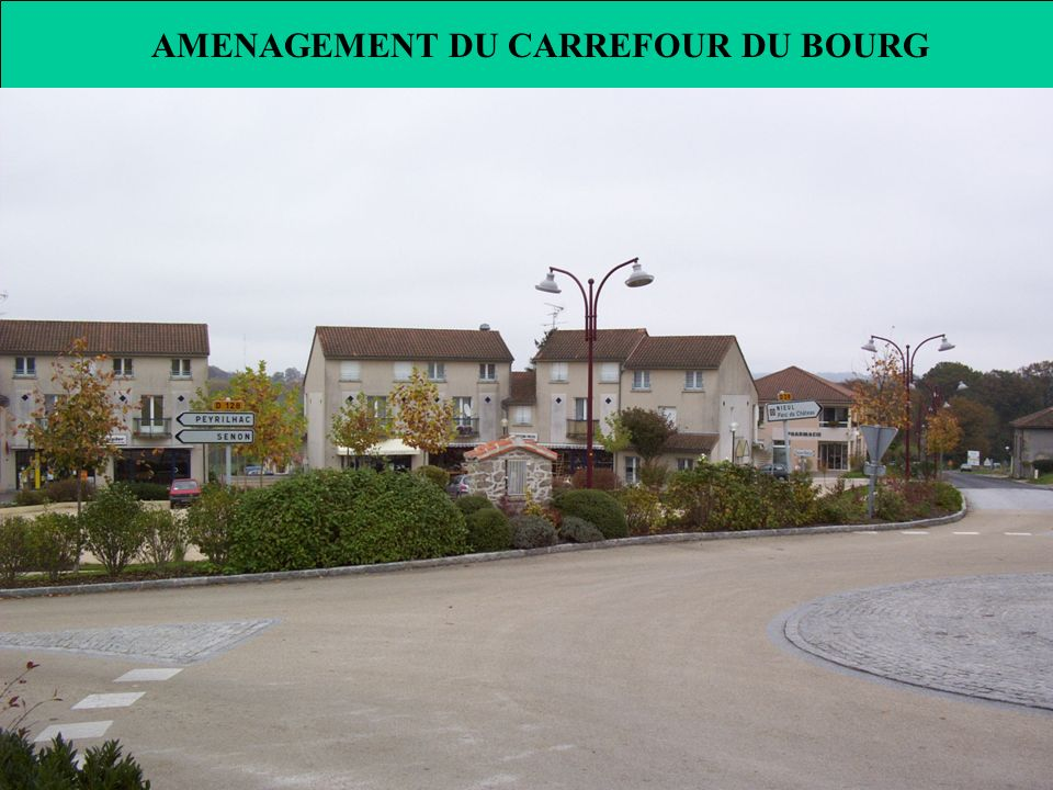 AMENAGEMENT DU CARREFOUR DU BOURG