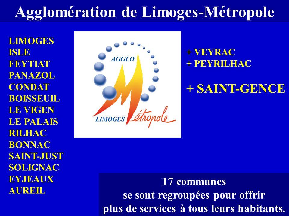 Agglomération de Limoges-Métropole