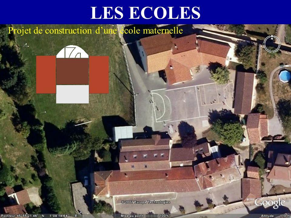 LES ECOLES Projet de construction d'une école maternelle