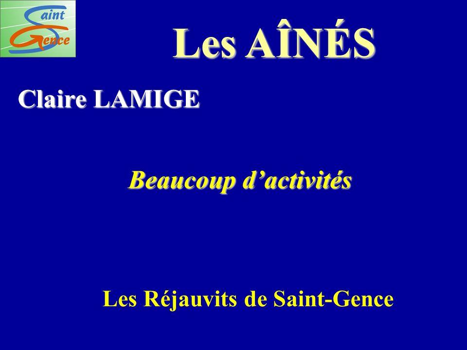 Les Réjauvits de Saint-Gence