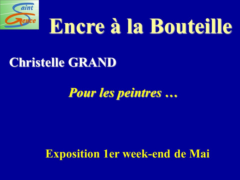 Exposition 1er week-end de Mai