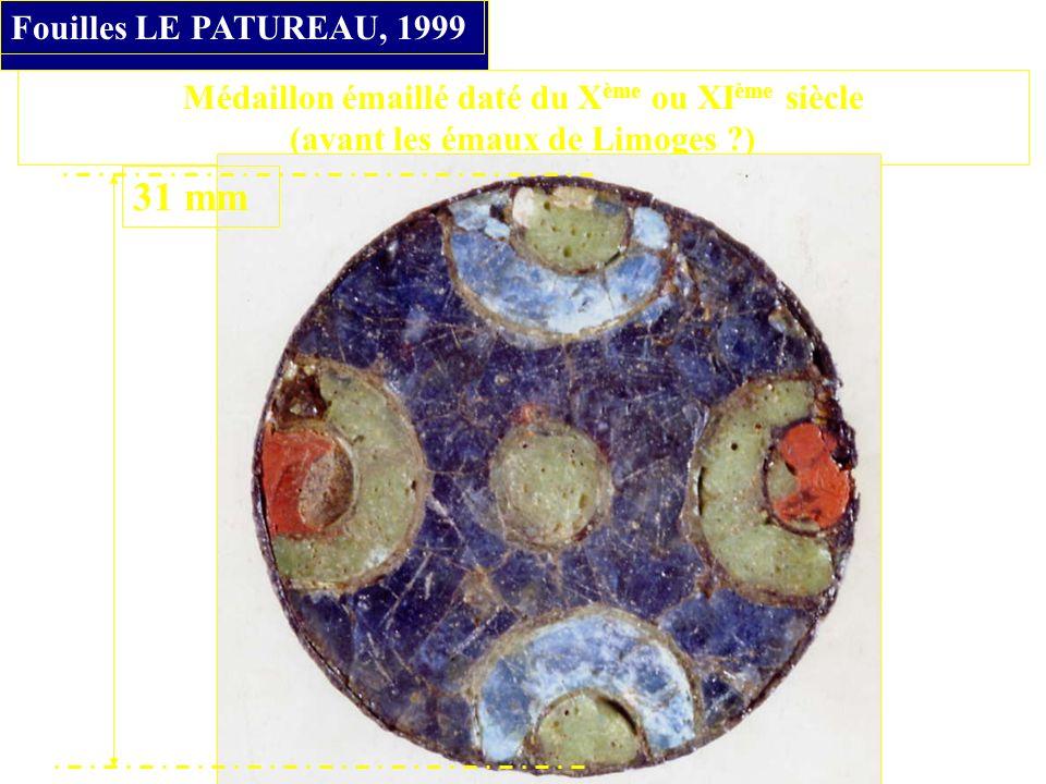31 mm Fouilles LE PATUREAU, 1999