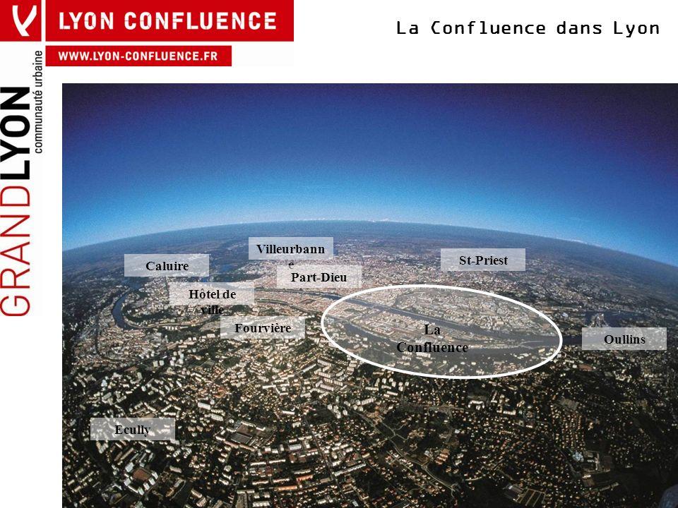 La Confluence dans Lyon