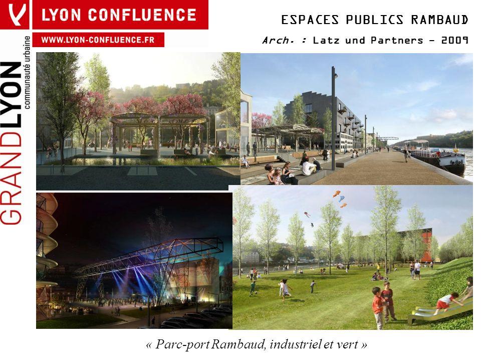 « Parc-port Rambaud, industriel et vert »