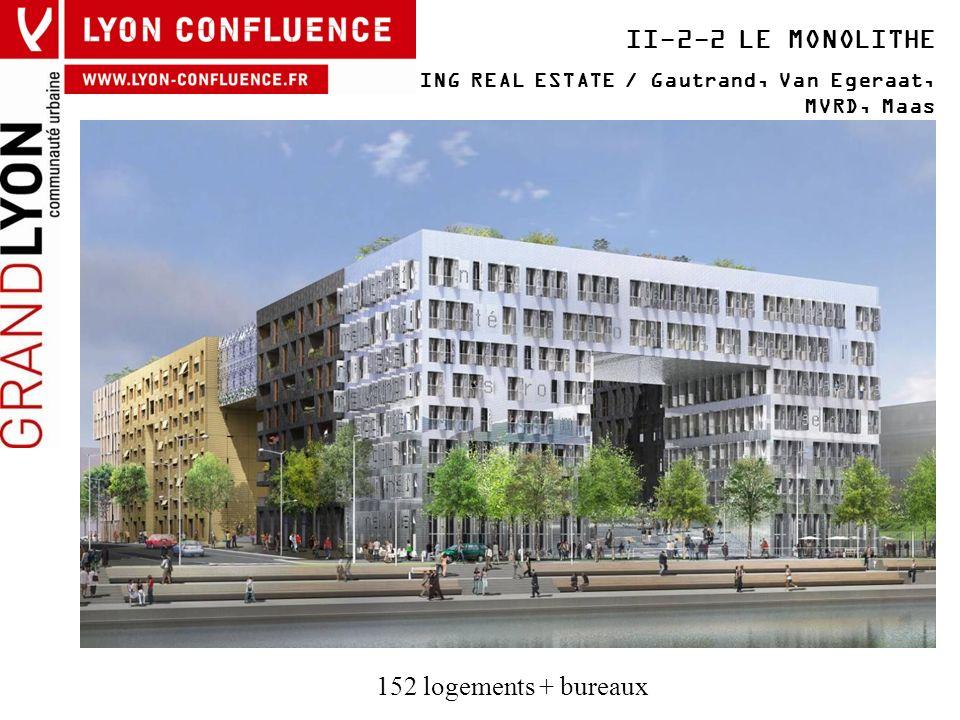 II-2-2 LE MONOLITHE 152 logements + bureaux