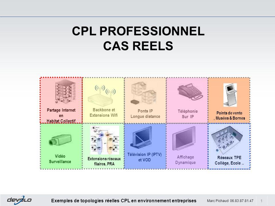 CPL PROFESSIONNEL CAS REELS