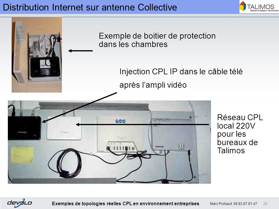 Distribution Internet sur antenne Collective