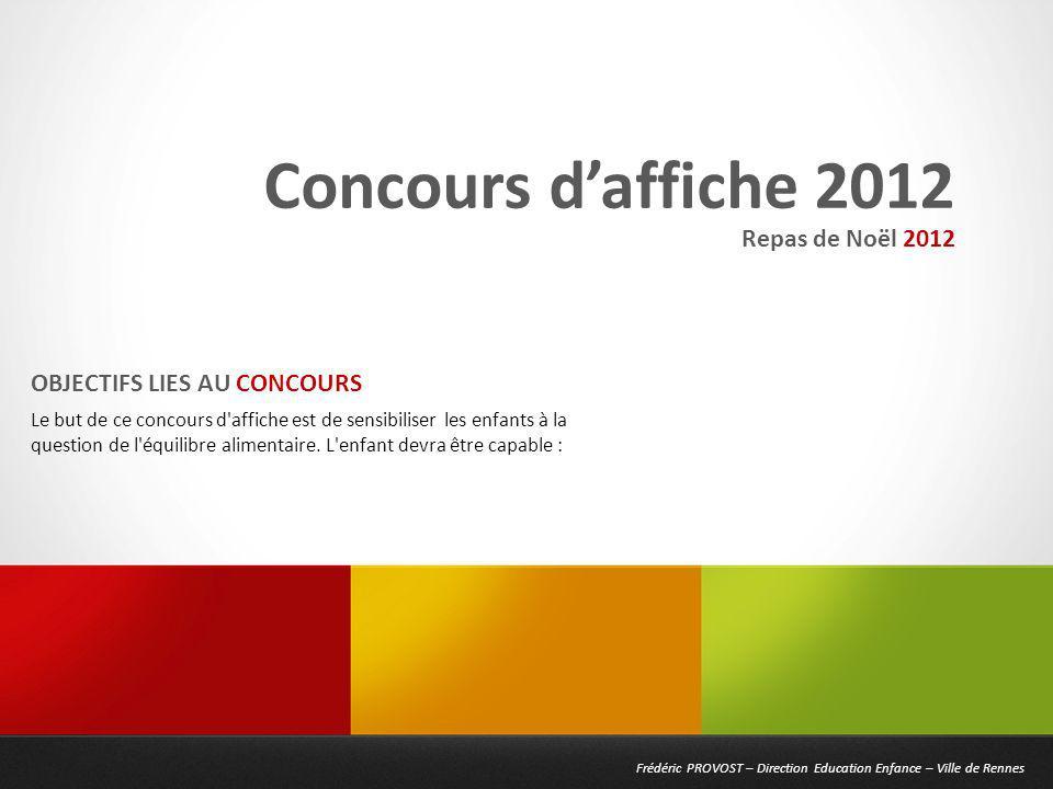 Frédéric PROVOST – Direction Education Enfance – Ville de Rennes