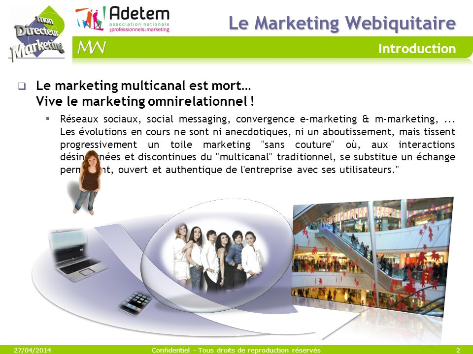 Le Marketing Webiquitaire Introduction