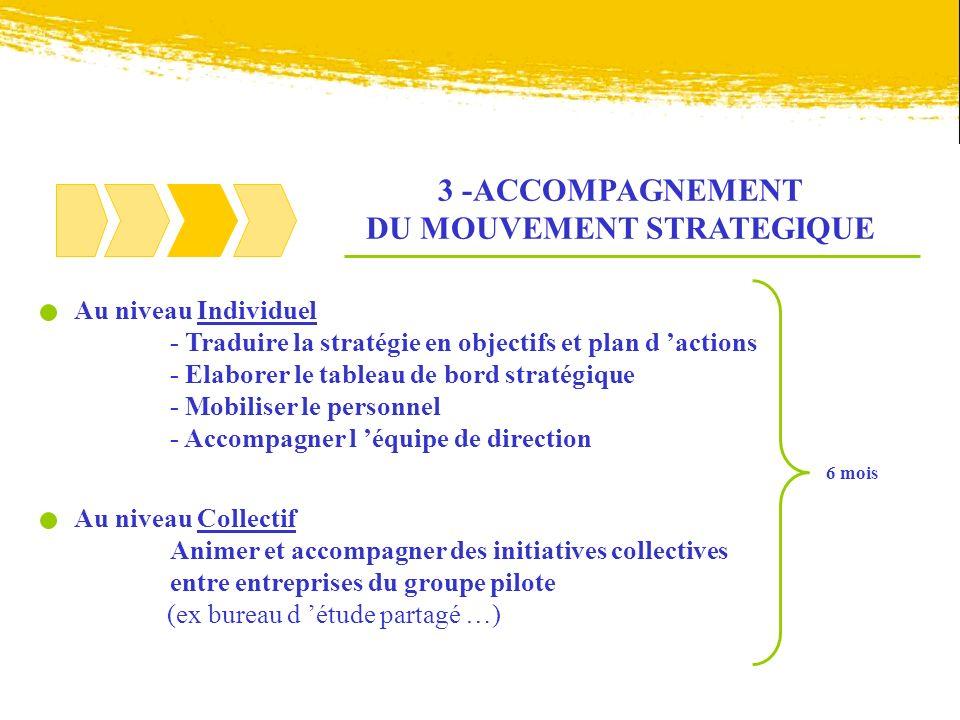 3 -ACCOMPAGNEMENT DU MOUVEMENT STRATEGIQUE