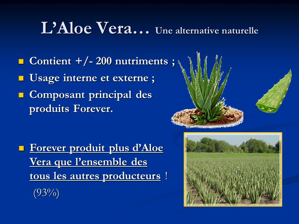 L'Aloe Vera… Une alternative naturelle