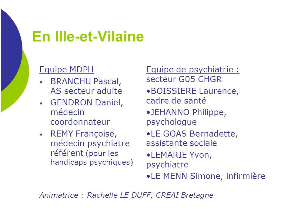 En Ille-et-Vilaine Equipe MDPH BRANCHU Pascal, AS secteur adulte