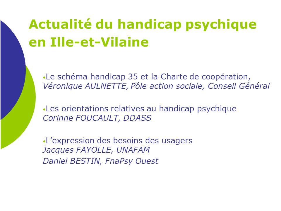 Actualité du handicap psychique en Ille-et-Vilaine