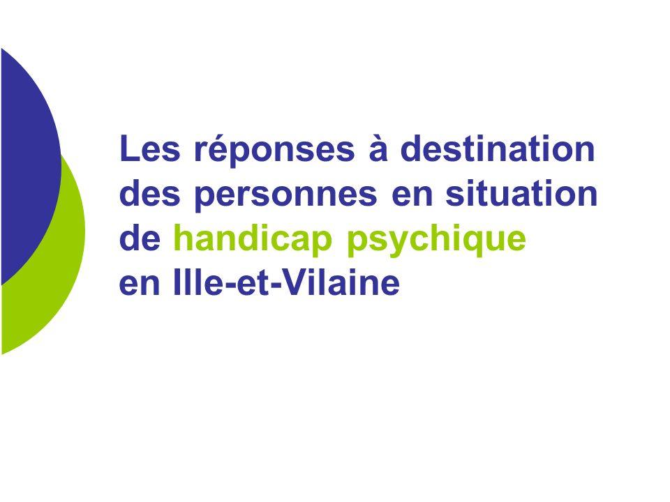 Les réponses à destination des personnes en situation de handicap psychique en Ille-et-Vilaine