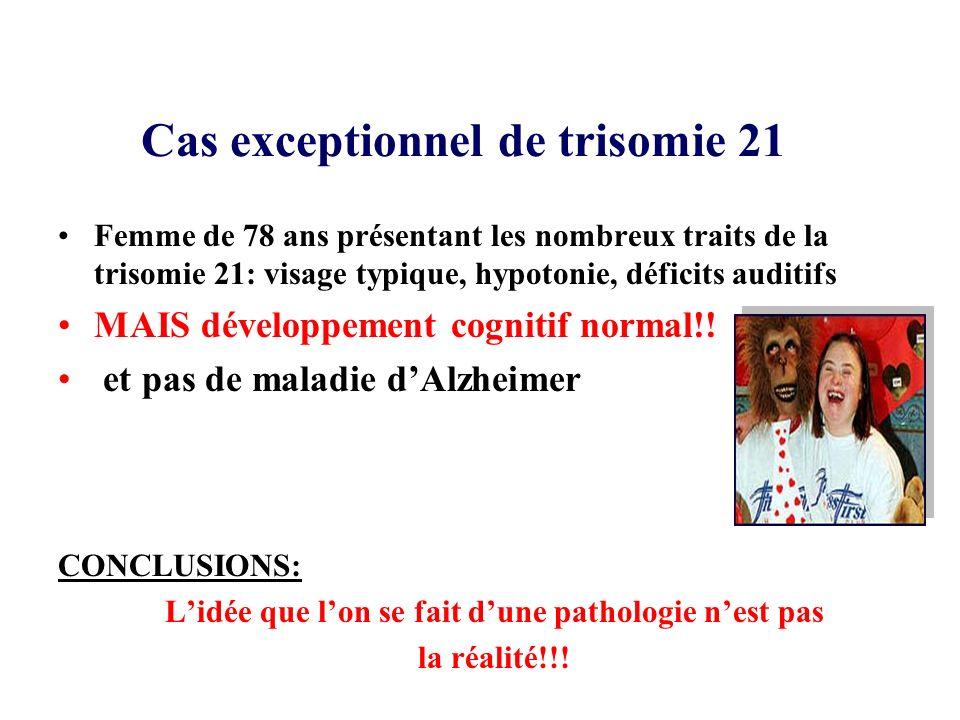 Cas exceptionnel de trisomie 21