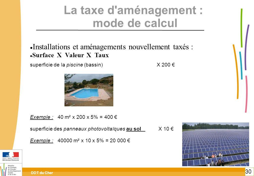 La taxe d aménagement : mode de calcul