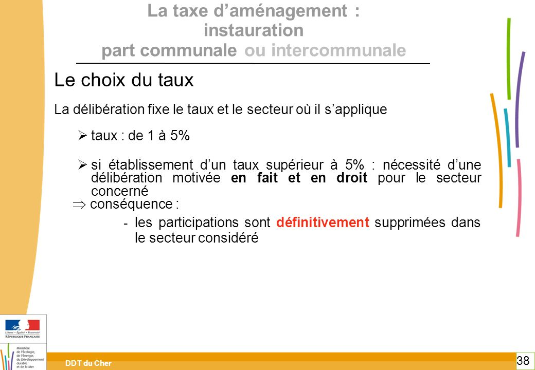 La taxe d'aménagement : instauration part communale ou intercommunale
