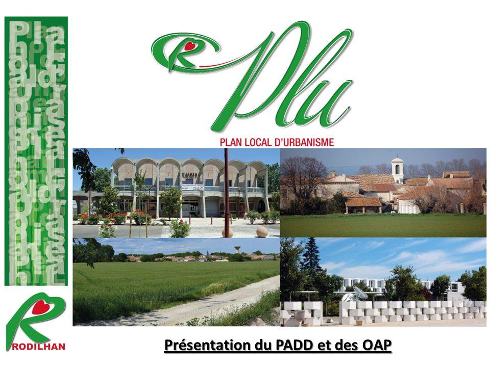 Présentation du PADD et des OAP