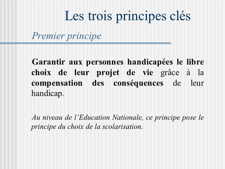 Les trois principes clés