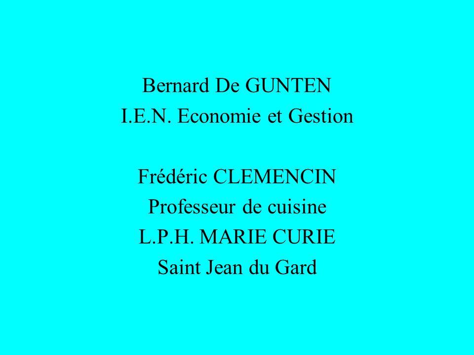 I.E.N. Economie et Gestion