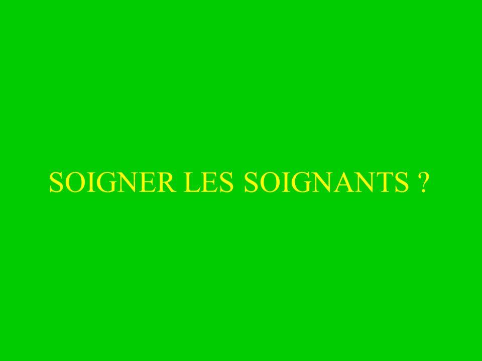 SOIGNER LES SOIGNANTS 25