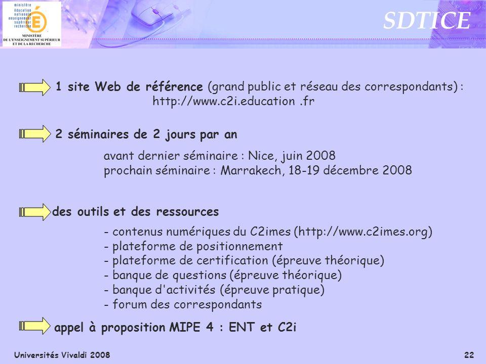 1 site Web de référence (grand public et réseau des correspondants) :