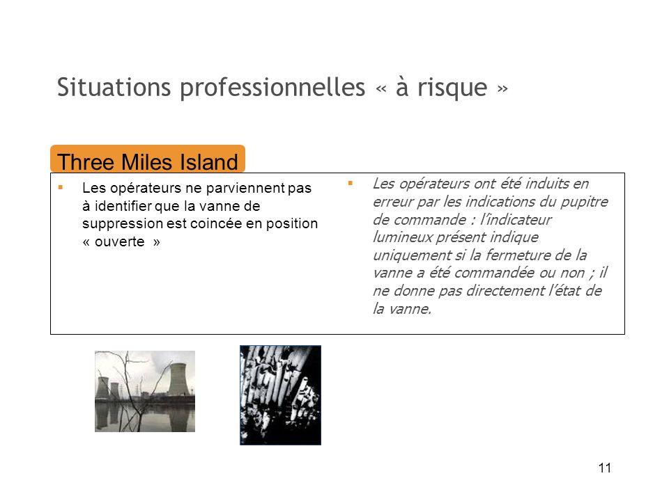 Situations professionnelles « à risque »