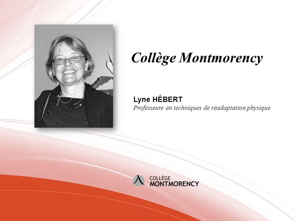 Collège Montmorency Lyne HÉBERT
