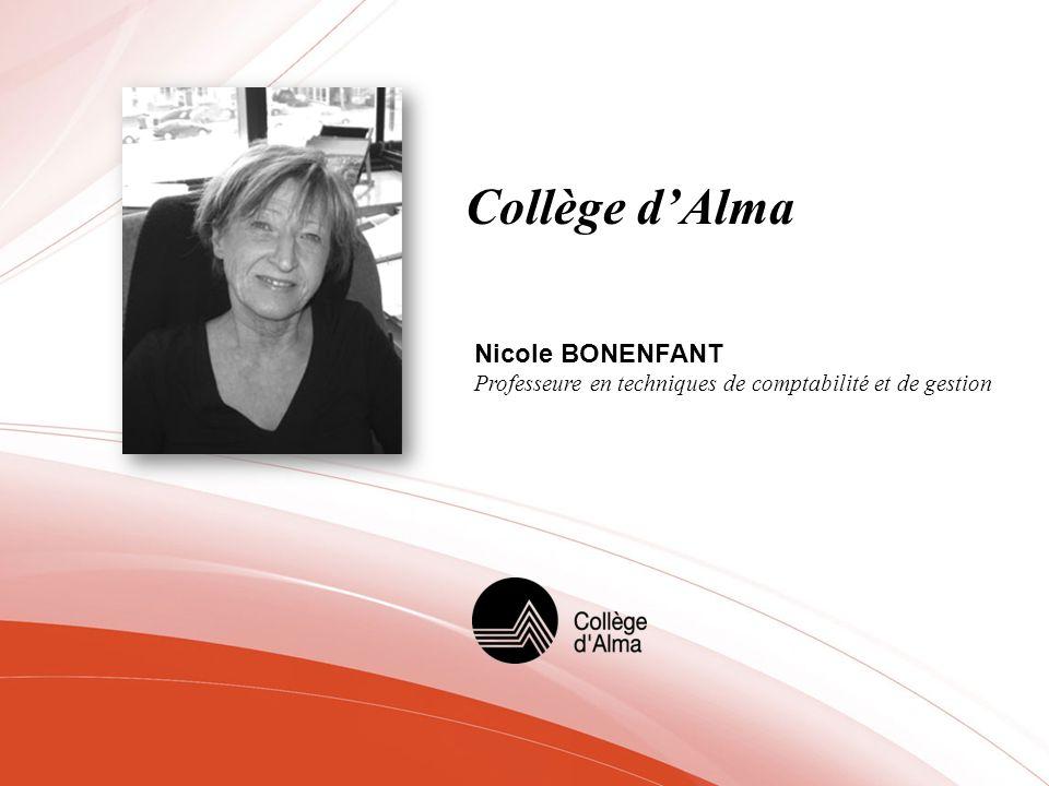 Collège d'Alma Nicole BONENFANT