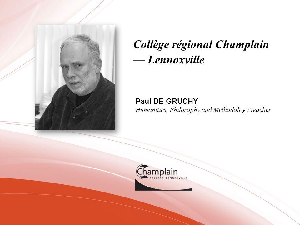 Collège régional Champlain — Lennoxville