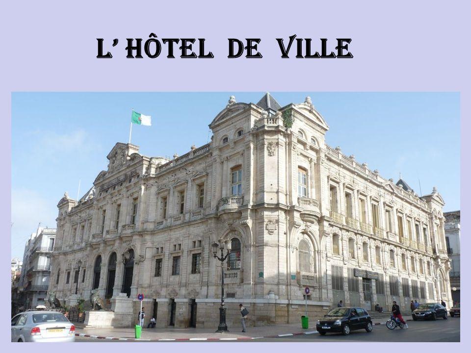 L' hôtel de ville