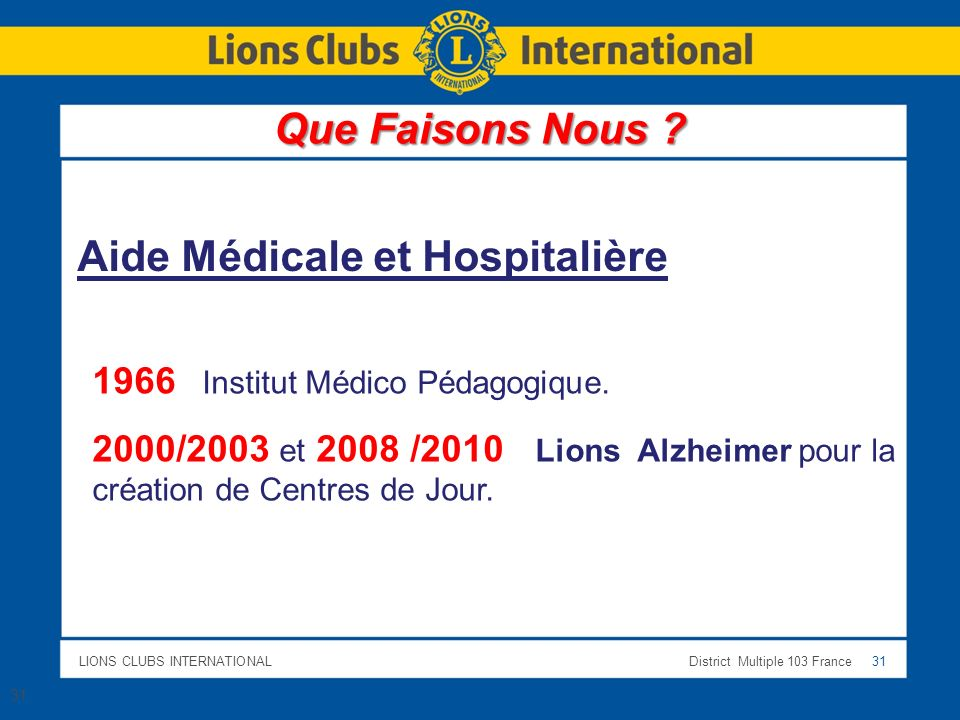 Aide Médicale et Hospitalière