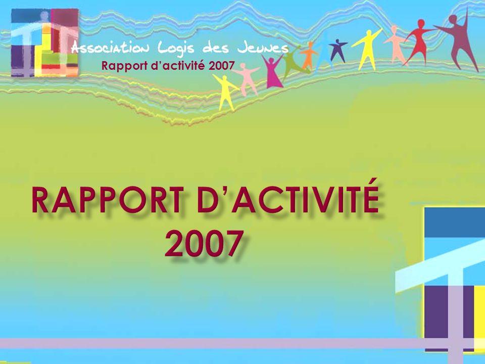 Rapport d'activité 2007