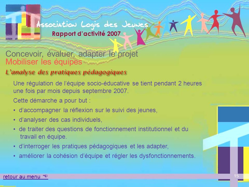 L'analyse des pratiques pédagogiques