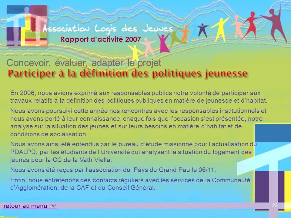 Participer à la définition des politiques jeunesse