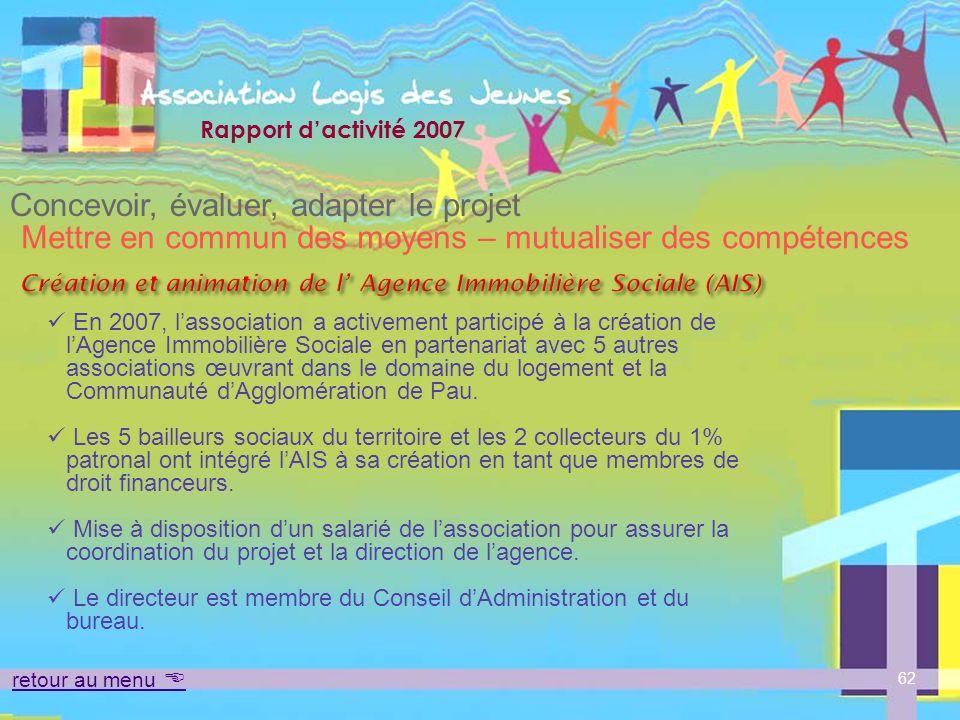 Création et animation de l' Agence Immobilière Sociale (AIS)