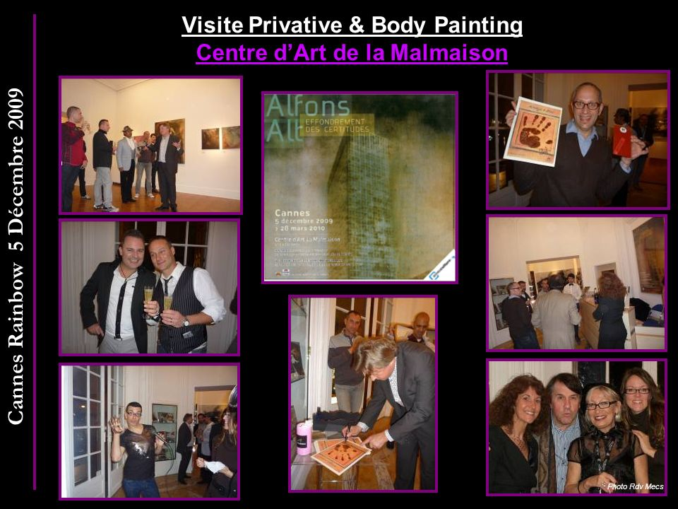 Visite Privative & Body Painting Centre d'Art de la Malmaison
