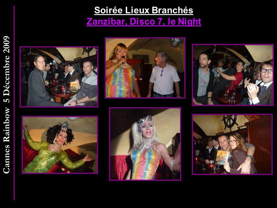 Soirée Lieux Branchés Zanzibar, Disco 7, le Night
