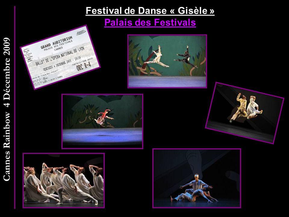 Festival de Danse « Gisèle » Palais des Festivals